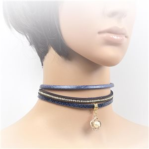Collier ras de cou Chic et Strass New Collection Choker L32-40cm 71727
