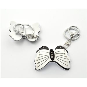 Keychain Fashion Strass New Collection Black & White 71931