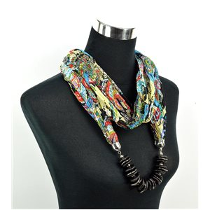 Polyester Jewelry Scarf Spring Collection 2017 70960