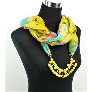 Foulard Bijoux polyester Collection 71020
