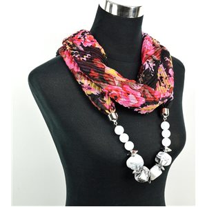 Foulard Bijoux polyester Collection 71021