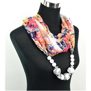 Polyester Jewelry Scarf Spring Collection 2017 71022