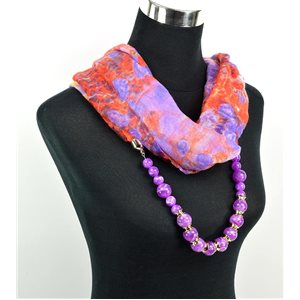 Foulard Bijoux polyester Collection 71025