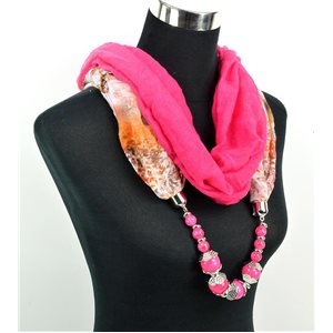 Foulard Bijoux polyester Collection 71034