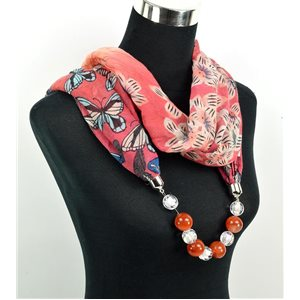 Foulard Bijoux polyester Collection 71044