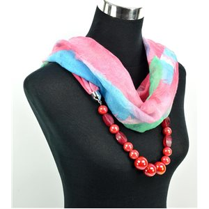 Foulard Bijoux polyester Collection 71058
