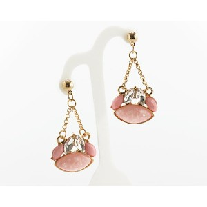 1p Earrings Pearls and Strass Collection 62704