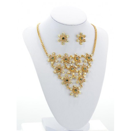 CYBELE Finery Decor Rhinestone Flower Collection 2015 61466