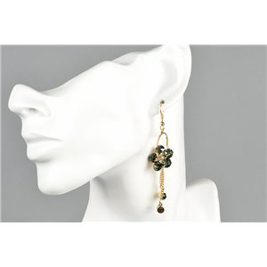 1p Boucles Oreilles Pendantes Collection ATHENA 73432