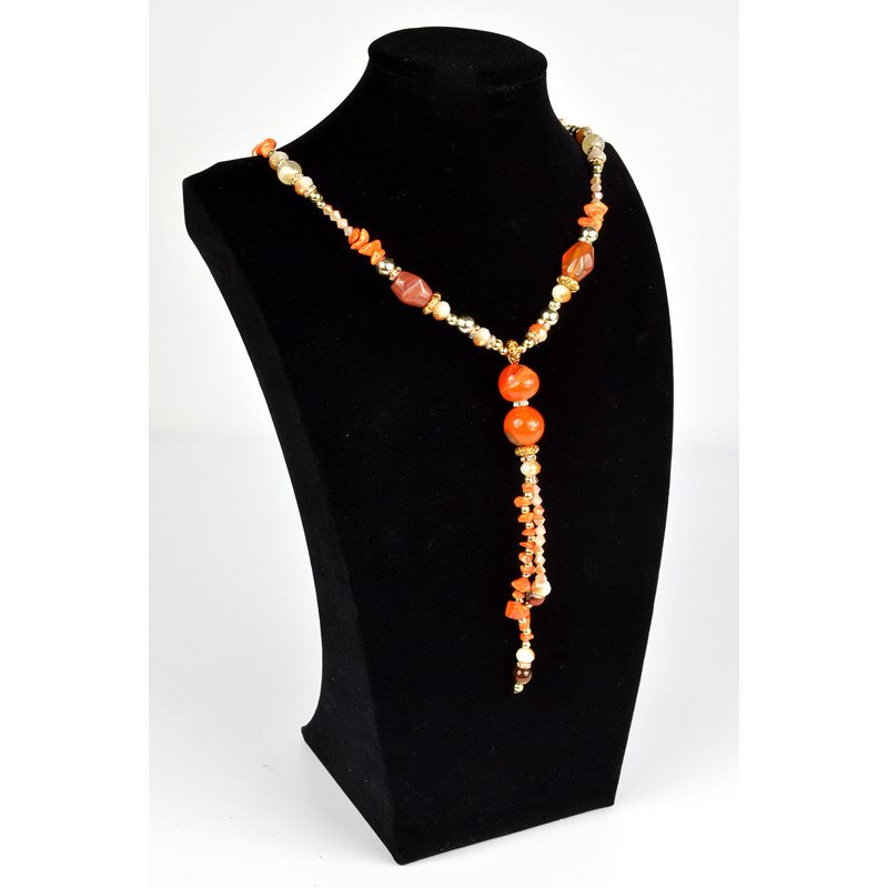 Ref 73524 Grossiste Bijoux Collier Cybele Collection Bead