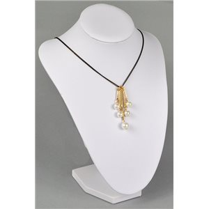Necklace long necklace l80-85cm jewelry imitation pearl collection graphika chic 73741
