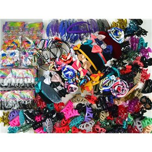 ready to unpack +180 special hair items market or destocking 75245