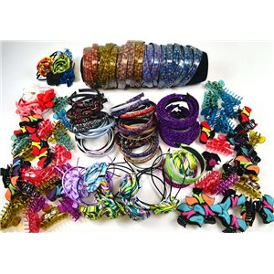 READY TO UNPACK +220 Special Hair Items Market or Stock clearance 75250