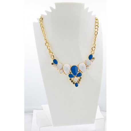 Collier ATHENA Princess Création Email et Strass 62146