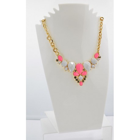 Collier ATHENA Princess Création Email et Strass 62147