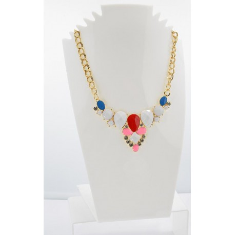 Email Creation necklace ATHENA Princess and Strass 62148