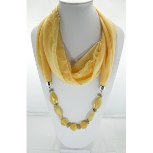 Scarf Necklace Jewelry New Collection 61834