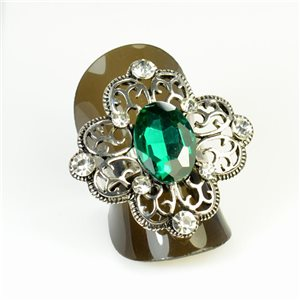 Rhinestones Adjustable Ring New Style Full Rhinestone 65958