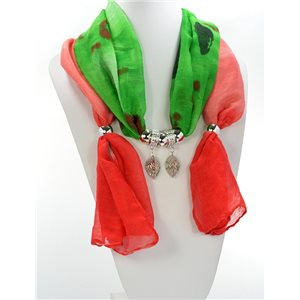 Scarf Necklace Jewelry Viscose Spring Summer Collection 2016 68419