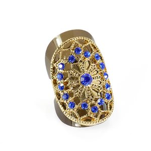 Bague Strass réglable Full Strass GOLD Vintage Collection 67871