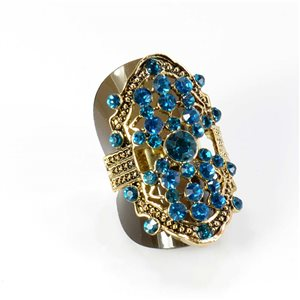 Bague Strass réglable Full Strass GOLD Vintage Collection 67903
