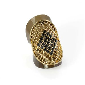 Bague Strass réglable Full Strass GOLD Vintage Collection 67935