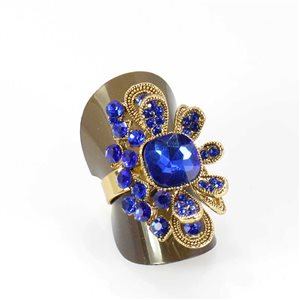 Bague Strass réglable Full Strass GOLD Vintage Collection 68015