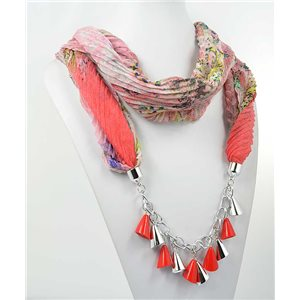 polyester scarf jewelry necklace new collection 2017 70976