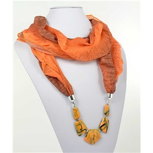polyester scarf necklace jewelry new collection 2017 70994