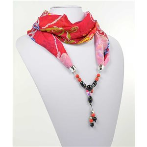 polyester scarf jewelry necklace new collection 2017 71000