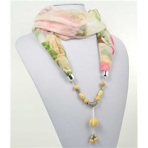 Collier Foulard Bijoux Polyester New Collection 71012