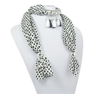 Collier Foulard Bijoux Polyester New Collection 2017 70948