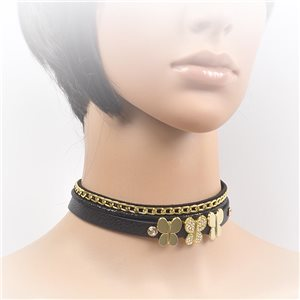 Collier ras de cou Chic et Strass New Collection Choker L32-40cm 71690