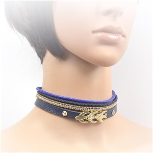 Collier ras de cou Chic et Strass New Collection Choker L32-40cm 71705