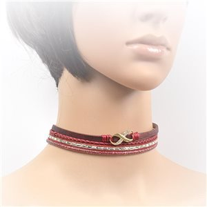 Collier ras de cou Chic et Strass New Collection Choker L32-40cm 71710