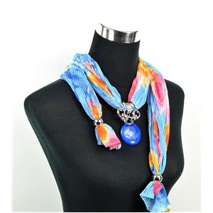 Polyester Jewelry Scarf Spring Collection 2017 70955