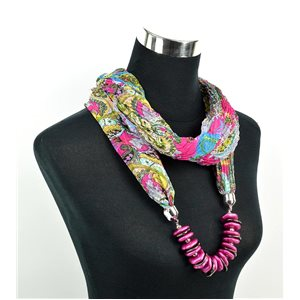 Polyester Jewelry Scarf Spring Collection 2017 70962