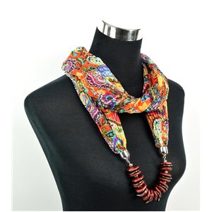Foulard Bijoux polyester Collection 70963