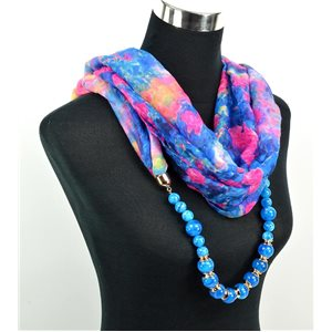 Foulard Bijoux polyester Collection 71027