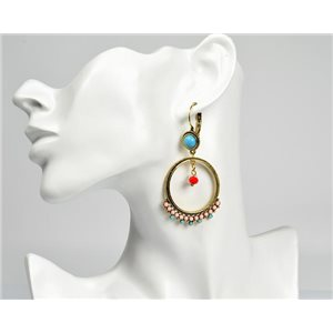 1p Earrings ATHENA New Ethnic Collection 2017 72817