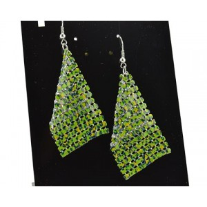 1p Ears Mesh Earrings Disco 62884