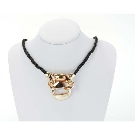 Collier Maillons acrylique Collection Hiver 61613