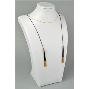 Collier Sautoir 77-82cm Bijoux New Collection Graphika Chic 73865
