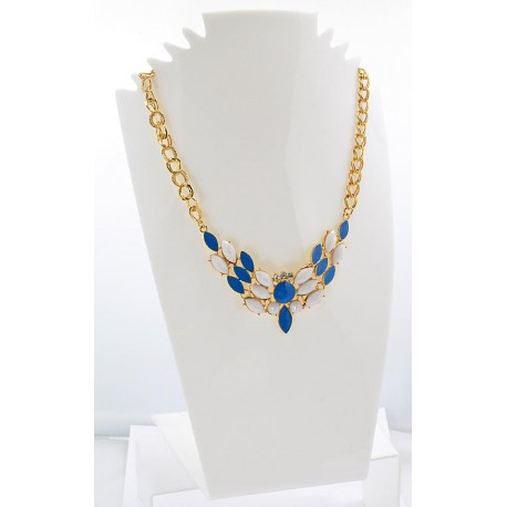 Collier ATHENA Princess Création Email et Strass 62142