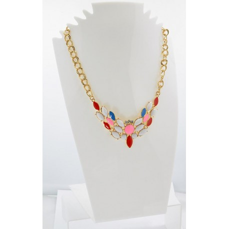 Email Creation necklace ATHENA Princess and Strass 62144