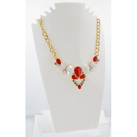 Collier ATHENA Princess Création Email et Strass 62145