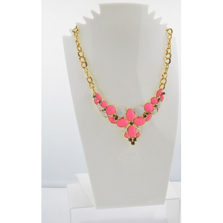 Collier ATHENA Princess Création Email et Strass 62163