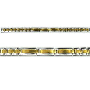 Bracelet in Stainless Steel Collection 2019 Gold & Silver 10mm 20.5cm 76405
