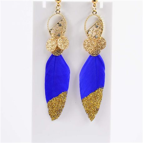 1p Drop Earrings 9cm Original Feather Collection 2019 76510