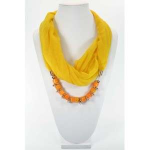 Scarf Necklace Jewelry New Collection 59664